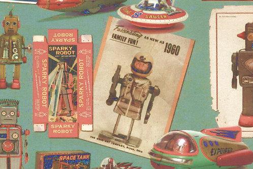Carta con Robot 50x70cm (cod.6181)