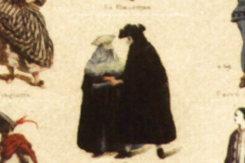 Carta con Disegni di Persone 50x70cm (cod.5187)