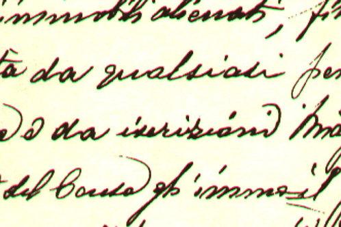 Carta con Scritte 50x70cm (cod.6705)