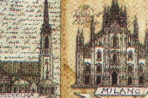 Carta Viaggi  Milano 50x70cm (cod.5065)