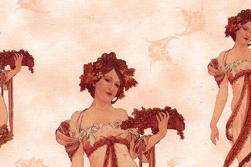 Carta con Disegno di Donna 50x70cm (cod.181A)