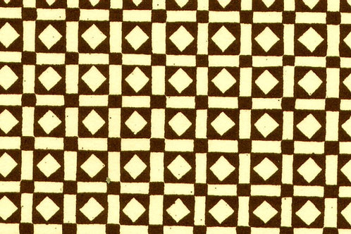 Carta Varese Disegni GeometriciMarrone 50x70cm (cod. 0081)