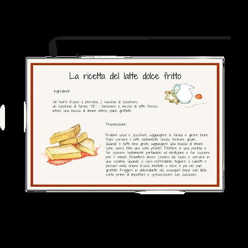Tovaglietta - Latte dolce Fritto