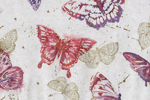 Carta con Farfalle 50x70cm (cod. 5135)