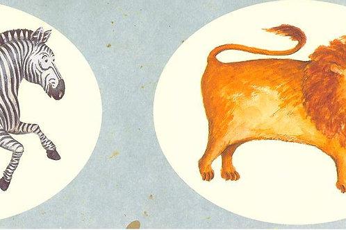 Carta con Animali Vari 50x70cm (cod. 1703)