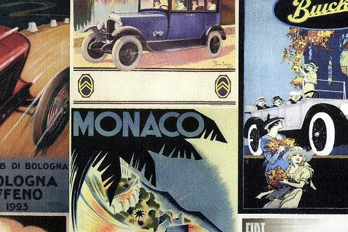 Carta con Dipinti Auto 50x70cm (cod.2078)