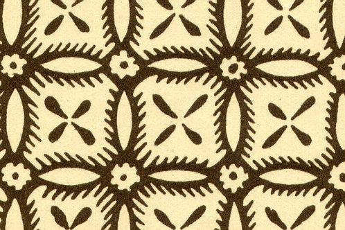 Carta Varese Disegni Geometrici Marrone 50x70cm (cod. 0386)
