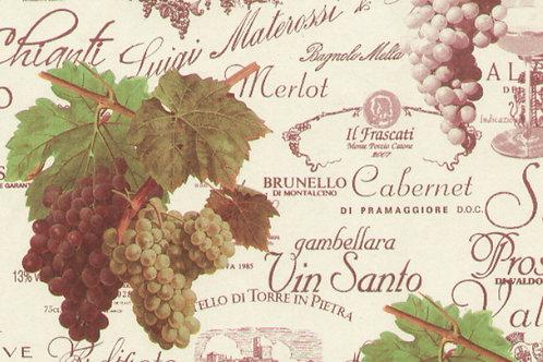 Carta con Vino 50x70cm (cod. 5454)