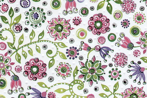 Carta Fiori Rosa 50x70cm (cod. 2133)