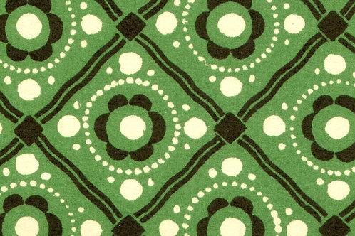 Carta Varese Disegni Geometrici Verde 50x70cm (cod. 0801)