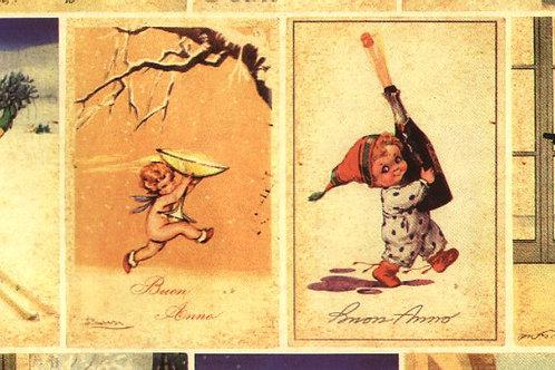 Carta con Bambini Cartolina 50x70cm (cod.5050)