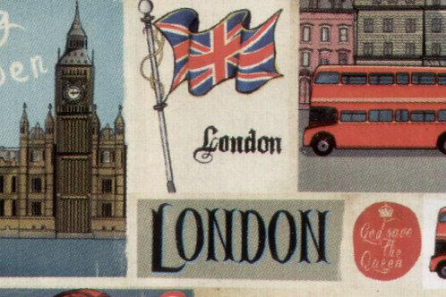 Carta Viaggi London 50x70cm (cod.5687)