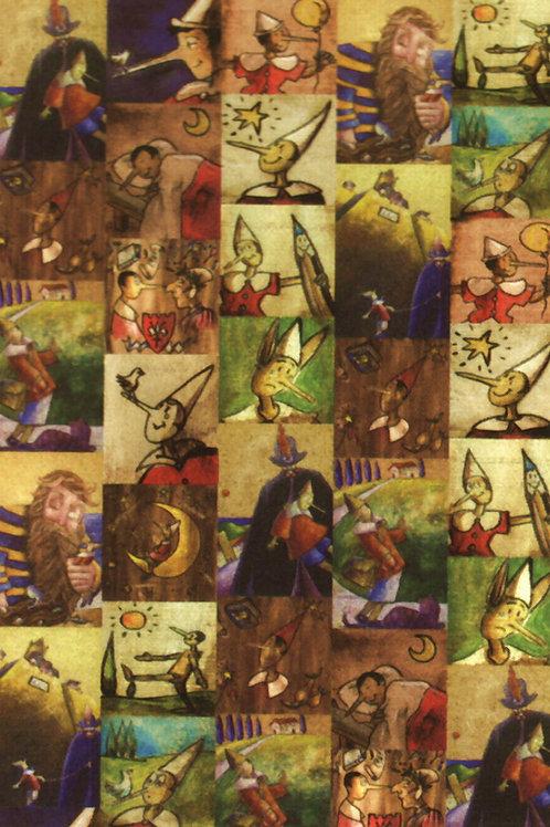 Carta Pinocchio 50x70cm (cod.5628)