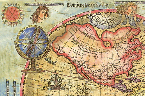 Carta Viaggi Mappamondo 50x70cm (cod.0889)