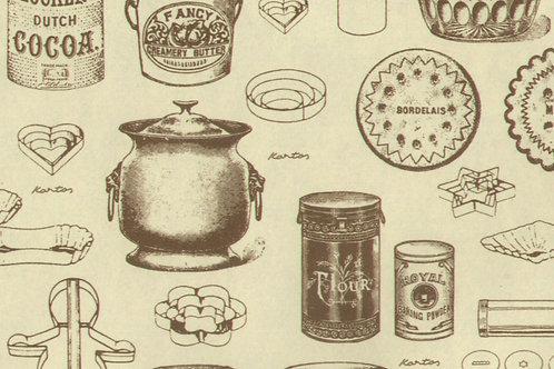 Carta Utensili da Cucina 50x70cm (cod. 2102)