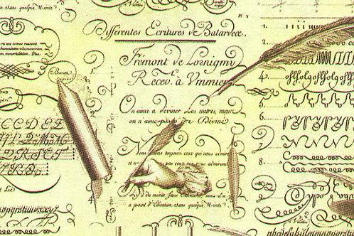 Carta con Scritte 50x70cm (cod.5006)