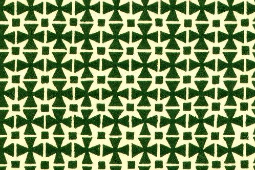 Carta Varese Disegni Geometrici Verde 50x70cm (cod. 0060)