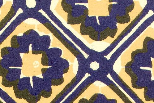 Carta Varese Disegni Geometrici Blu 50x70cm (cod. 0849)