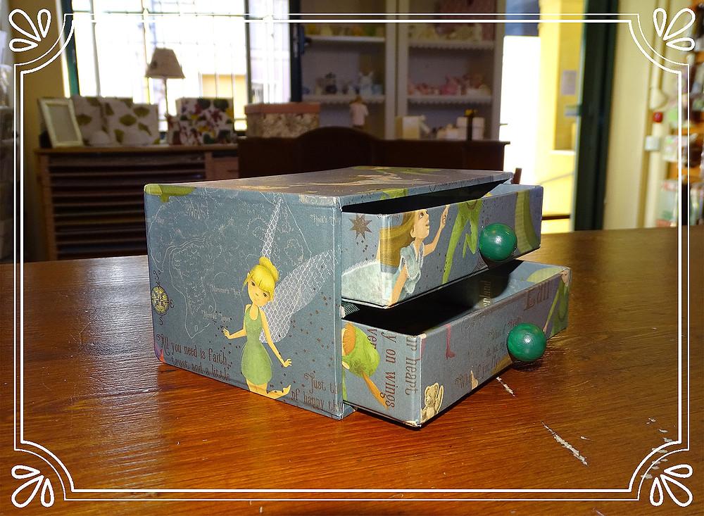 cassettiera a 2 cassetti
