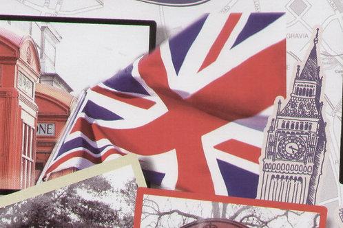 Carta Viaggi Londra 50x70cm (cod.6199)