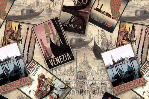 Carta Viaggi Venezia 50x70cm (cod.2103)