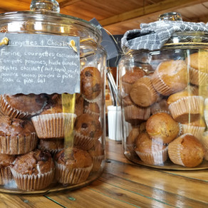 Muffin au chocolat et aux courgettes