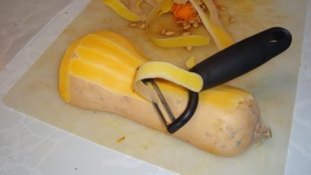 Comment cuisiner une courge. (préparation)
