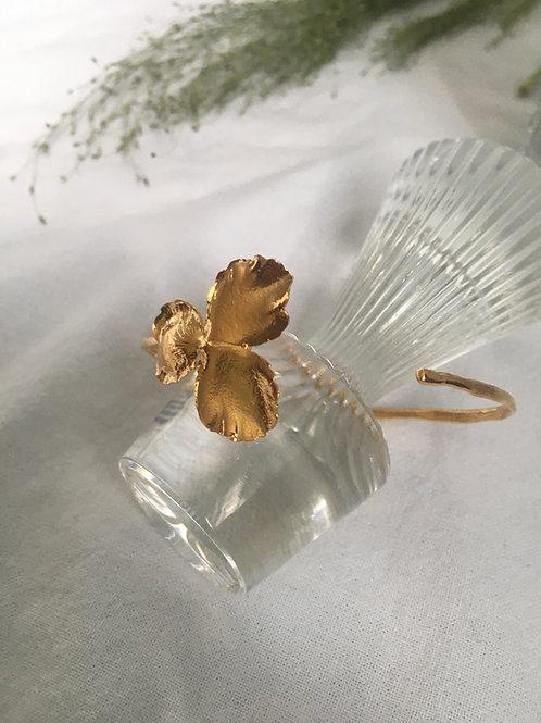 Elise Tsikis Paris Pensée Armspange gold