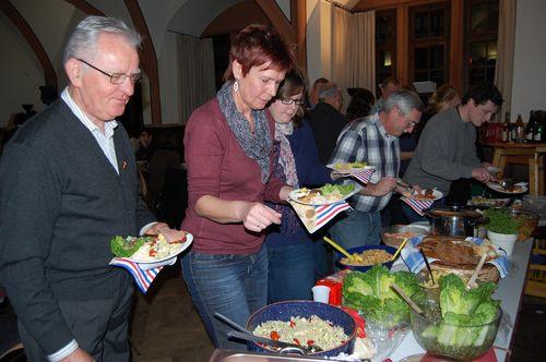 """Mitbringparty am 12.01.2012 anlässlich """"Dreikönigskuchen"""""""