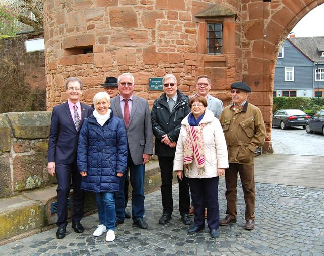 Französischer Abgeordneter besucht Büdingen