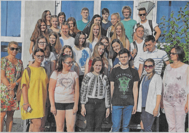 Rumänische Schüler zu Gast in Büdingen