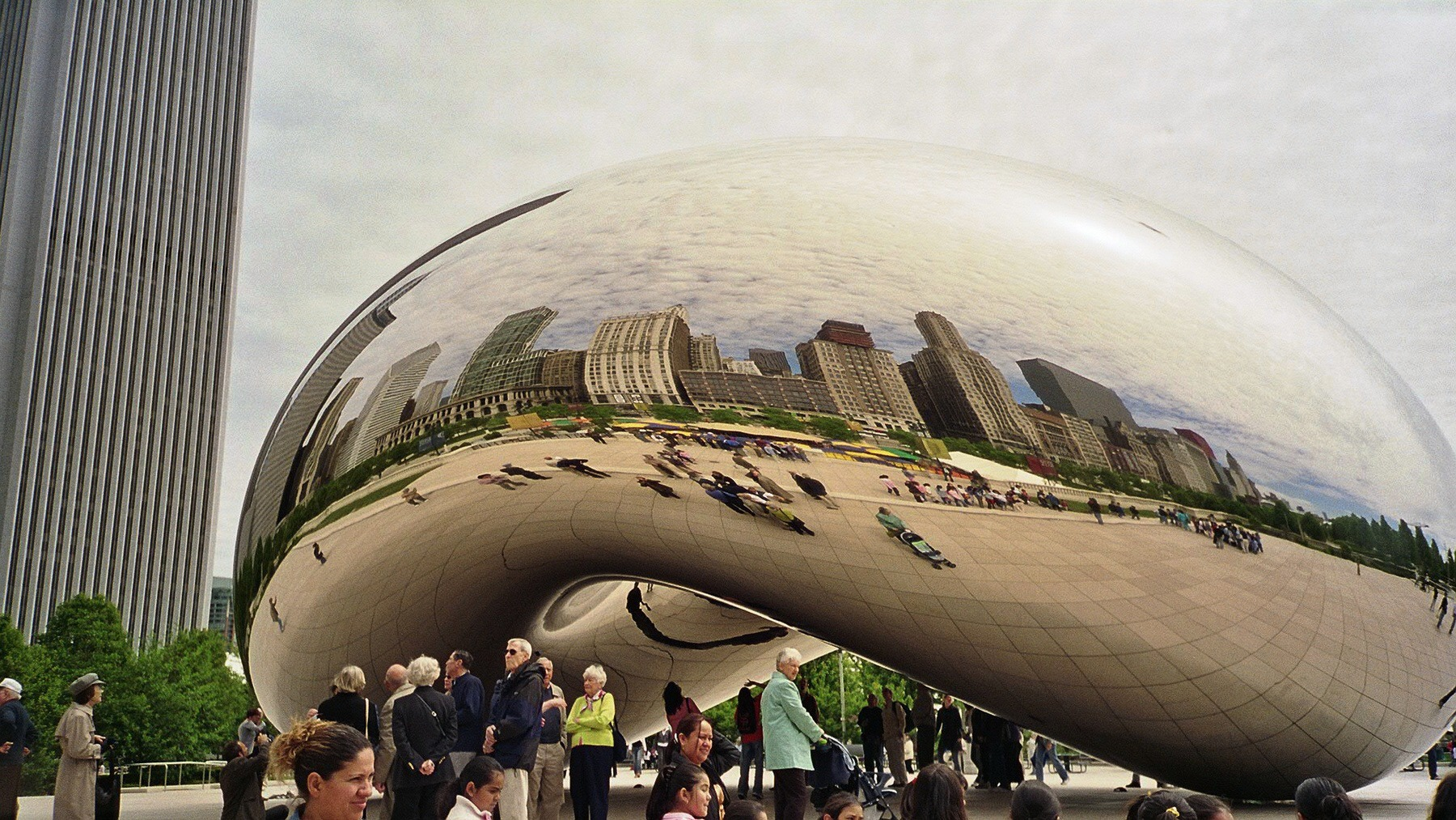 """Cloud Gate"" in Chicago"