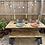 Thumbnail: Garden Table and Additional Garden Bench