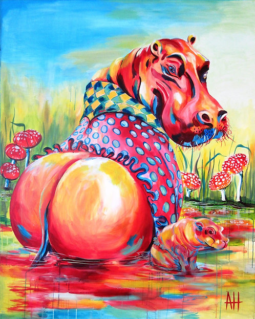HIPPO and BABE; (medium) PRINT