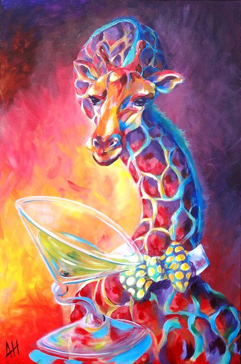 Giraffe Martini Dirty