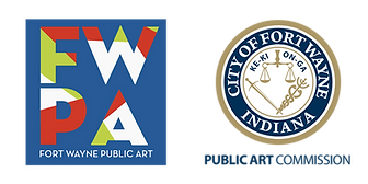 Public Art Logo Seal City of Fort Wayne.