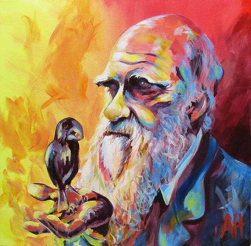 """DARWIN LARGE PRINT 14"""" x 14"""""""