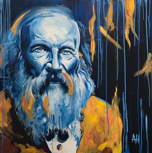 """Dmitri Mendeleev PRINT 12"""" x 12"""""""