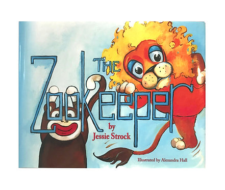THE ZOOKEEPER | Children's Book by Jessie Strock | Available on Amazon!