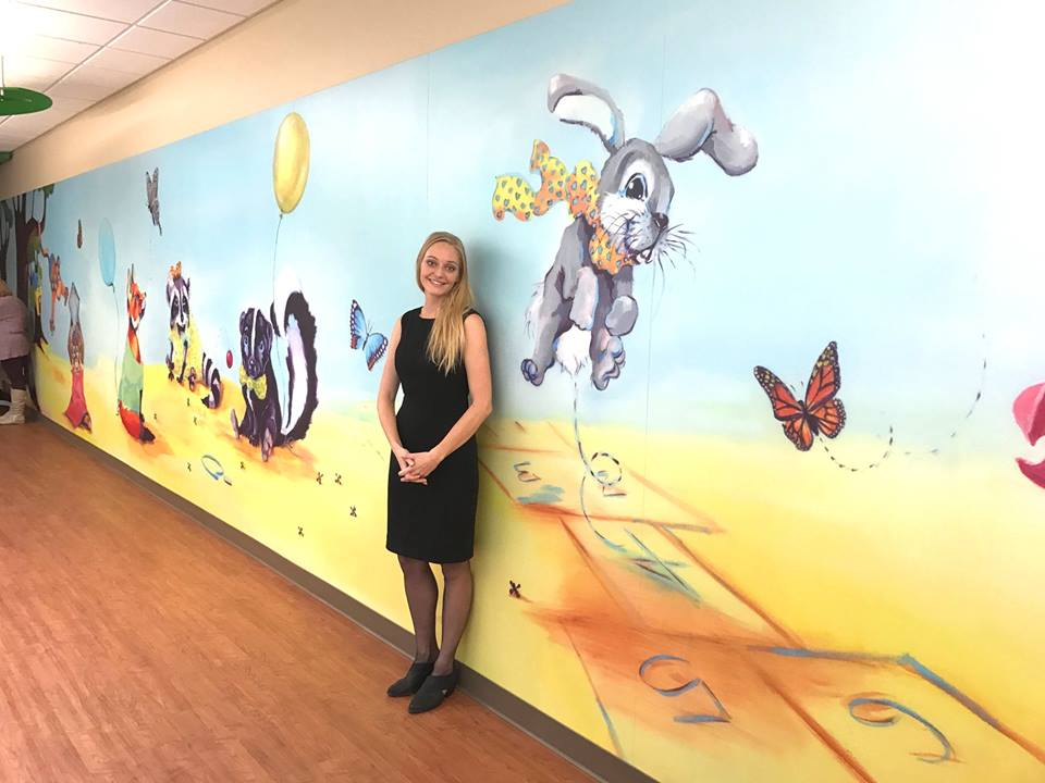 Lutheran Children's Hospital Mural