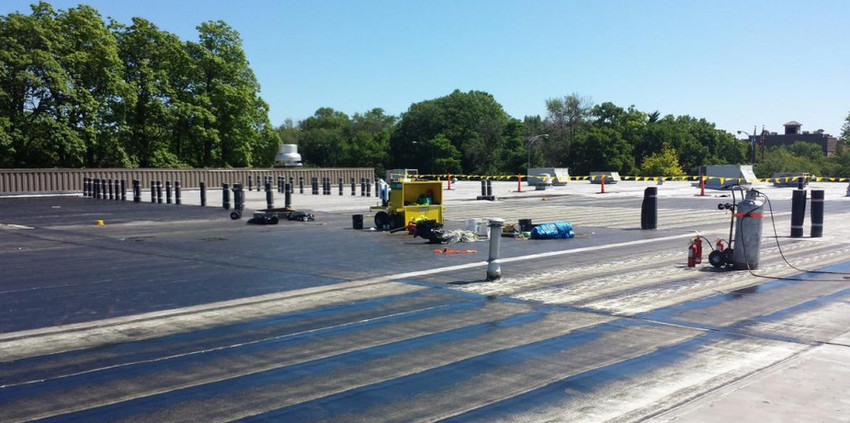 Becker Roofing Company Flat Roof