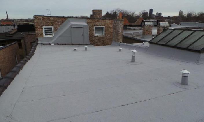 Flat Roof Tear Off