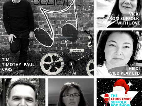 The Christmas Suffolk Pod Show Podcast - Meet all the guests from Part 3!