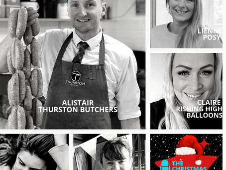 The Christmas Suffolk Pod Show Podcast - Meet all the guests from Part 4!