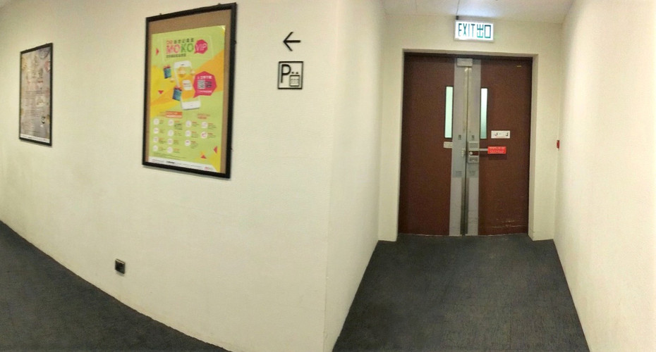 走廊牆身3M Di-Noc Film裱貼工程 3M Di-Noc Film Installation for Corridor Wall