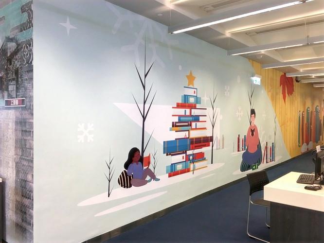牆紙設計及裱貼工程 Wall Mural Design & Installation