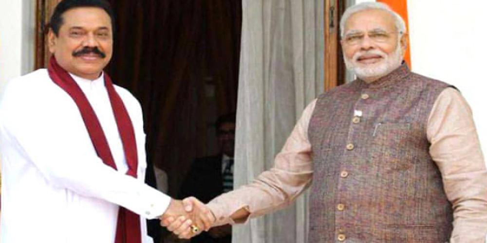 srilankan prime minister visit india