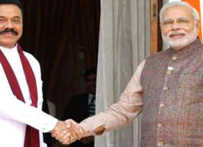 श्रीलंका के प्रधानमंत्री महिंदा राजपक्षे की भारत यात्रा