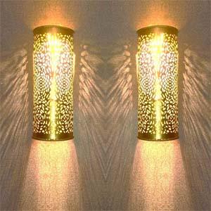 Filigree lights for home decoration