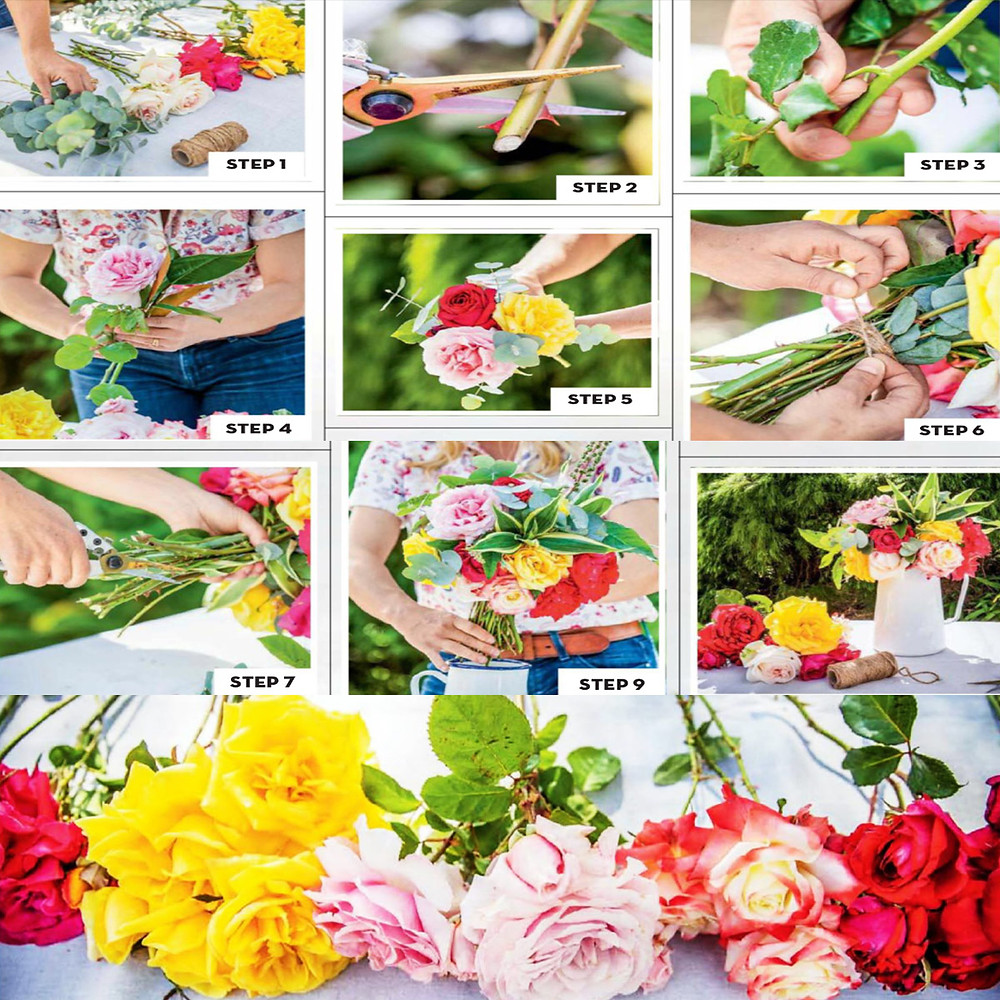 Easy Steps To Making Your Bouquet Of Roses